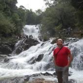 водопад в далате